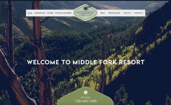 Middle Fork Home Screenshot